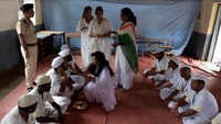 Raksha Bandhan: NGO volunteers tie rakhis to inmates at Nashik Road Central Prison