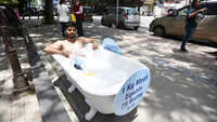 Pune: PETA adopts unique way to raise awareness on World Water Week