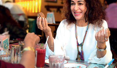 Food for thought: Singer, chef and healer Anaida Parvaneh on her relationship with food