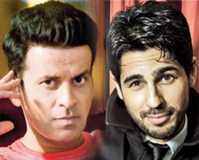 Sidharth Malhotra and Manoj Bajpayee in Neeraj Pandey's next