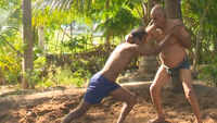 93-year-old man teaches, practices wrestling in Madurai