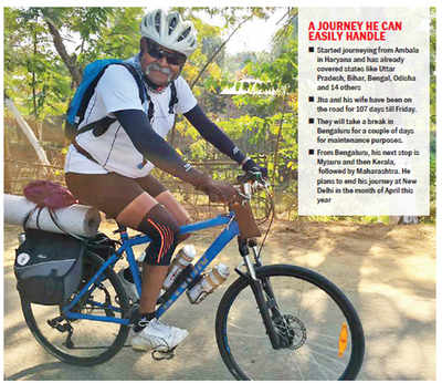 Retired general bikes for martyrs