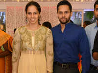 Match point! Badminton stars Saina Nehwal, Parupalli Kashyap to tie the knot today