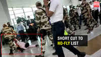 Watch how a man creates ruckus at Delhi's IGI Airport for trying to fly without RT-PCR report