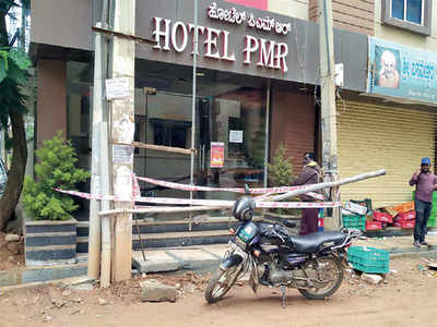With two cases, hotel breaches covid norms