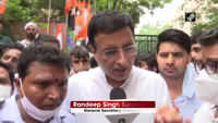 Keep us in jail but repeal black farm laws: Randeep Surjewala