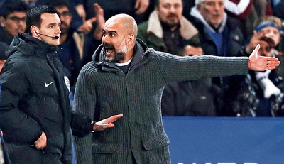 Guardiola's City lose twice in a row as resurgent United score eight goals in two games in EPL