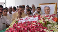 Sheila Dikshit's last rites performed with state honours