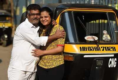 Auto driver's daughter clears CA finals, fulfills  his dream
