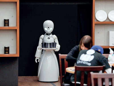 Do you think there is a long time to go before robots pose any realistic threat to jobs?