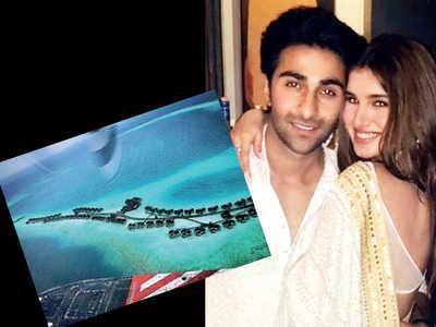 Tara Sutaria and Aadar Jain's island escapade