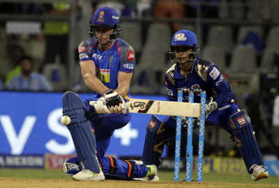 IPL 2018: Jos Buttler's inning keeps Rajasthan Royal in play-offs hunt; Mumbai Indian lose by seven wickets