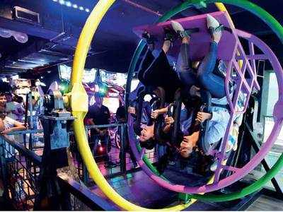 Thrilling rides, mega games revive ghost town of a mall in Worli