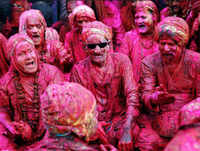 Holi 2019: People celebrates festival of colours with zeal and fervour