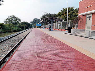 Take a train to the airport for just Rs 10