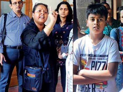 Pune school expels Class VII student whose mother is leading protests