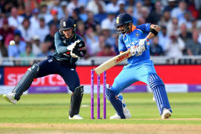 India vs England 1st ODI: Kuldeep Yadav's magic, Rohit Sharma's grace take India to emphatic victory