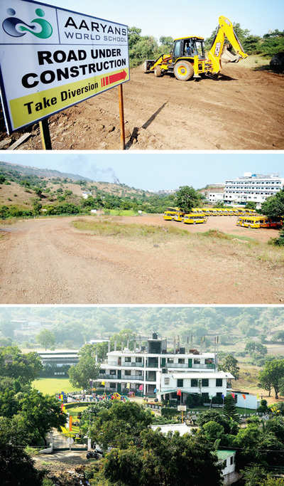 ROAD TO NOWHERE FOR AARYANS WORLD SCHOOL