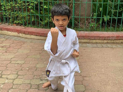 Krishiv Gupta bags gold in ISKU online kata championship