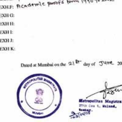 domicile certificate in hindi