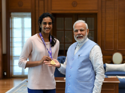 World champion PV Sindhu returns to hero's welcome, says feeling yet to sink in