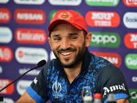 Afghanistan captain uses popular Urdu phrase while addressing media