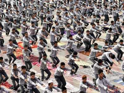 Over 1.50 cr people to take part in Yoga Day events across Gujarat