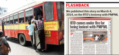 RTO penalises PMPML for overcrowded buses