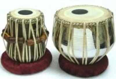 The tabla sounds better