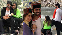 Sara Ali Khan and Kartik Aaryan enjoy work with some sightseeing time in the picturesque landscapes of Himachal Pradesh