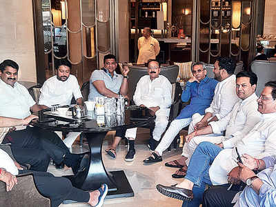 How 162 MLAs from Shiv Sena, Congress and NCP spent one month in 5-star captivity