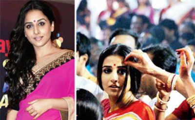 Vidya's Kahaani continues in Kolkata