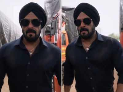 Salman Khan's first look from Antim out, actor to play a Sikh cop