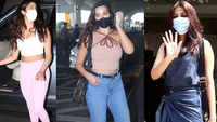 #CelebrityEvenings: From Janhvi Kapoor to Nora Fatehi, Bollywood celebs spotted in Mumbai