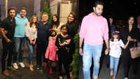 Aishwarya Rai Bachchan, Abhishek Bachchan along with daughter Aaradhya are back from their New York vacations