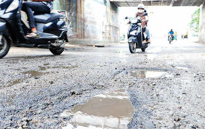 With rain, potholes return to haunt city