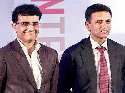Rahul Dravid to meet Sourav Ganguly today, NCA, CAC on the agenda