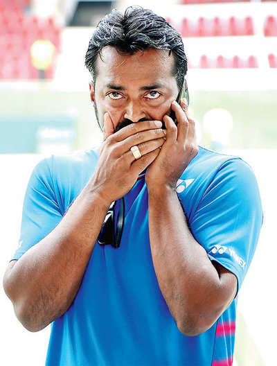Dropped Paes says he's off to US