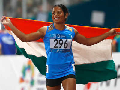Asian Games: Dutee Chand clinches silver in 100m dash