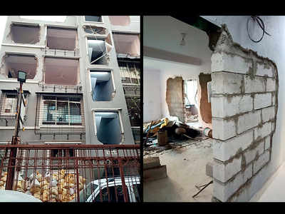 Illegal structure in Juhu Koliwada survives civic body's demolition drive