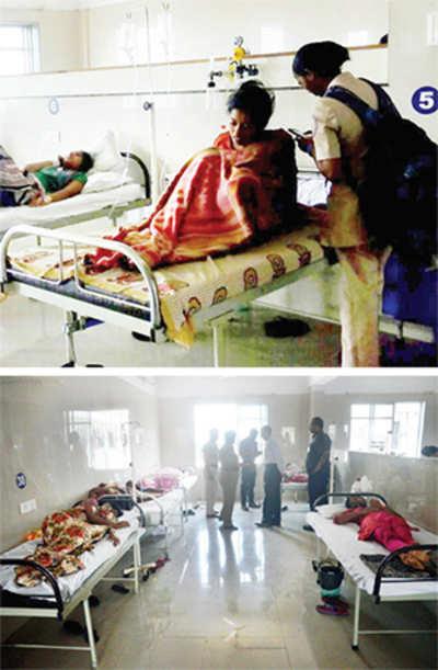 40 aspiring nurses land in hospital after dinner
