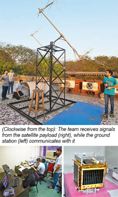 IIT-B's satellite gets a signal from space