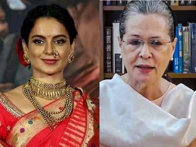 Kangana Ranaut to Sonia Gandhi: As a woman, aren't you anguished by the treatment I am given? History will judge your silence