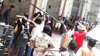 Kartik Aryan shoots at Udaipur's Gangaur Ghat