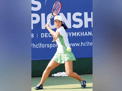 Six indian girls falter at asian junior tennis championship