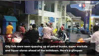 Bengaluru folk make a beeline at stores ahead of the lockdown