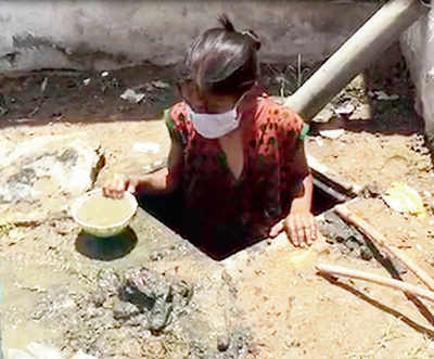 Hyderabad orphanage makes eight girls clean septic tank