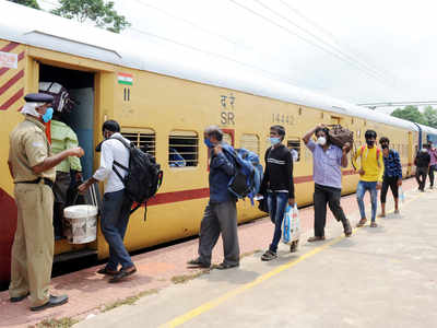 Shramik Special Trains: Rlys earned Rs 428 cr ferrying migrants home