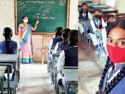 15-year-old girl spurs her fellow pupils to rejoin the classroom