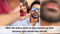 Raashi Khanna and Sai Dharam Tej's fun BTS of Prati Roju Pandaage